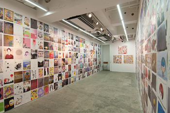 A New Day exhibition was held at Hidari Zingaro